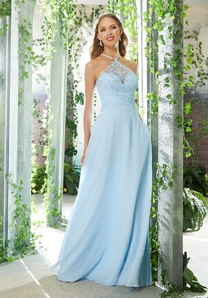 Morilee by Madeline Gardner Bridesmaids 21609 Halter Bridesmaid Dress