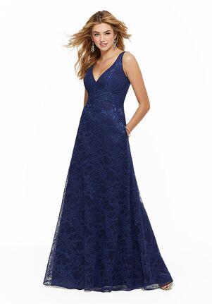 Morilee by Madeline Gardner Bridesmaids 21637 V-Neck Bridesmaid Dress