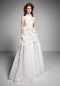 Viktor&Rolf Mariage ETHEREAL MILLEFEUILLE FLOWER GOWN A-Line Wedding Dress