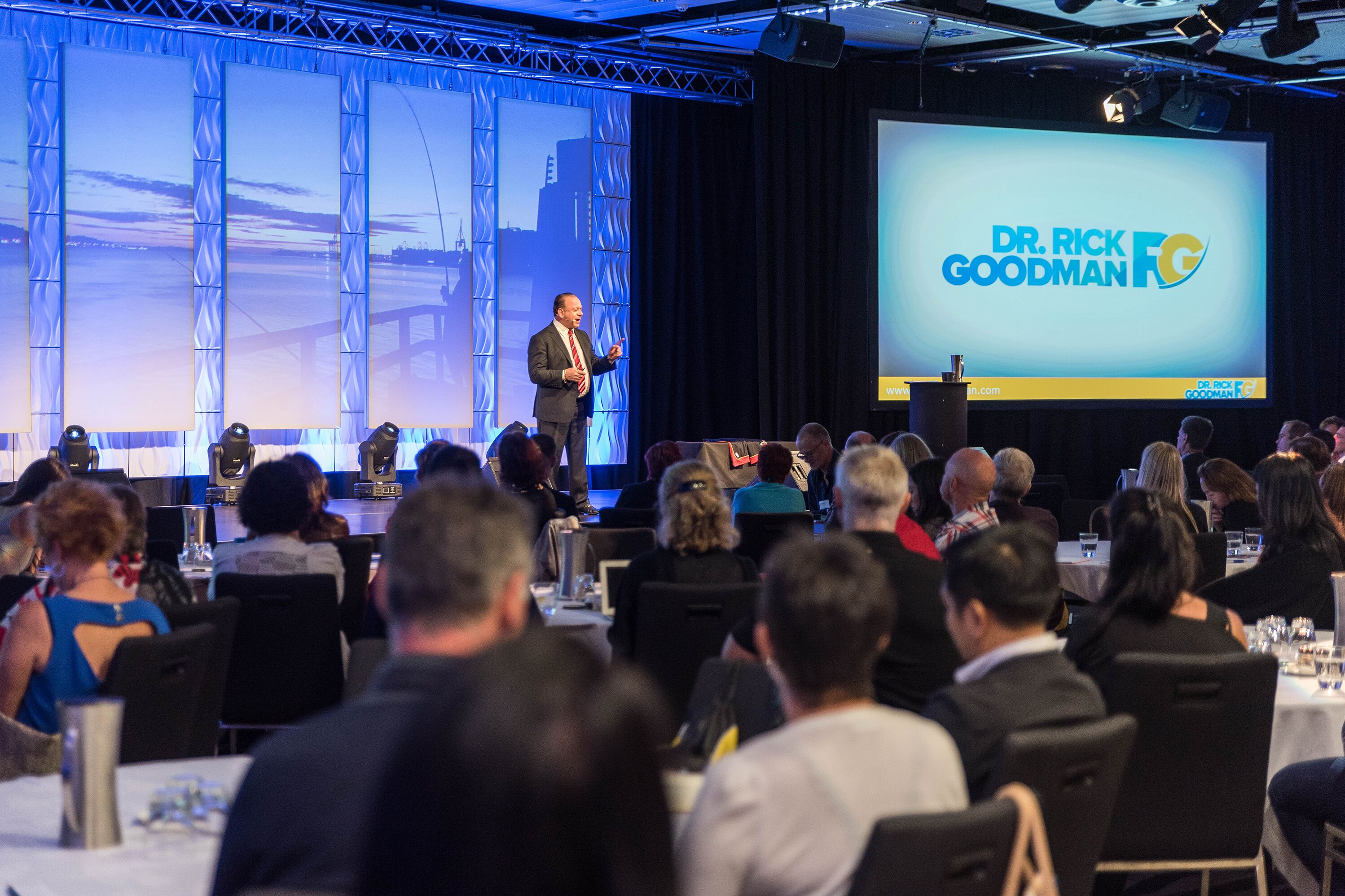 Delivering the Keynote in Auckland