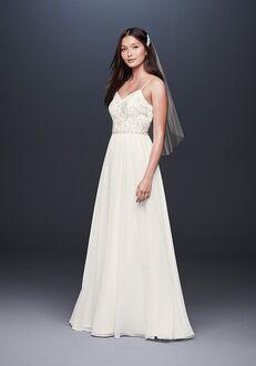 David's Bridal DB Studio Style 184288DB Sheath Wedding Dress