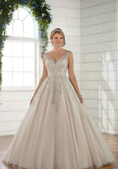 Essense of Australia D2499 Ball Gown Wedding Dress