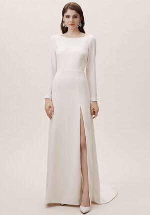 888c1e142ee40 Sheath Wedding Dresses | The Knot