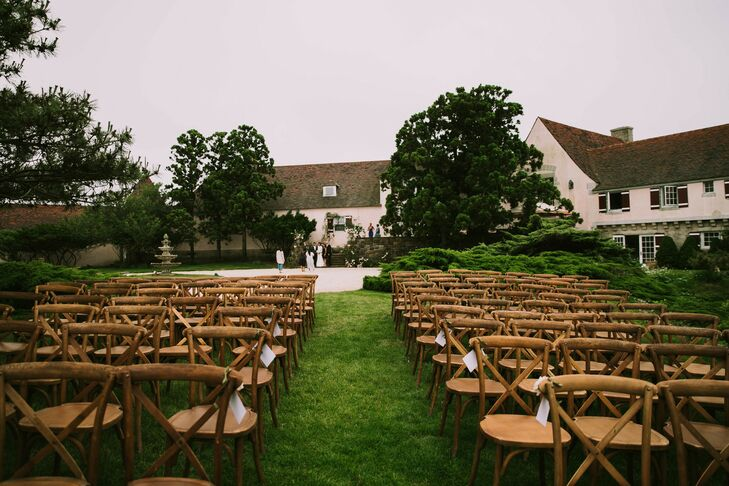 Private Residence Wedding Ceremony in Southampton, New York