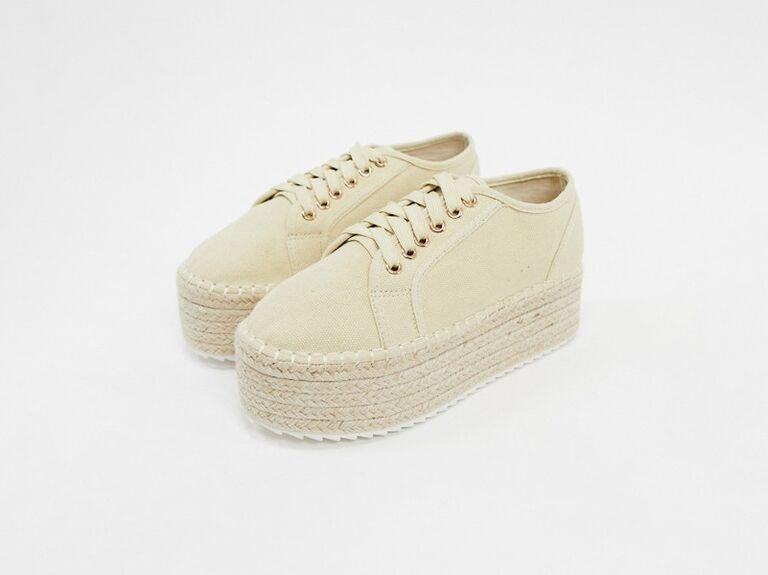 Espadrilles wedding sneakers