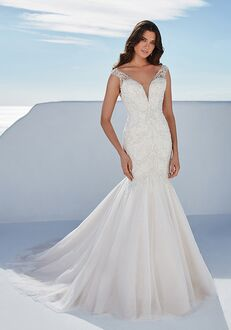 Justin Alexander Bess Mermaid Wedding Dress