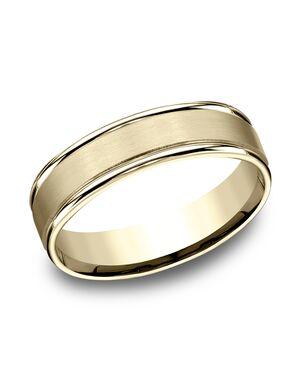 Benchmark RECF7602SY Gold Wedding Ring