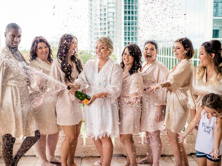 24 Bridesmaid Robes They'll Actually Wear Again