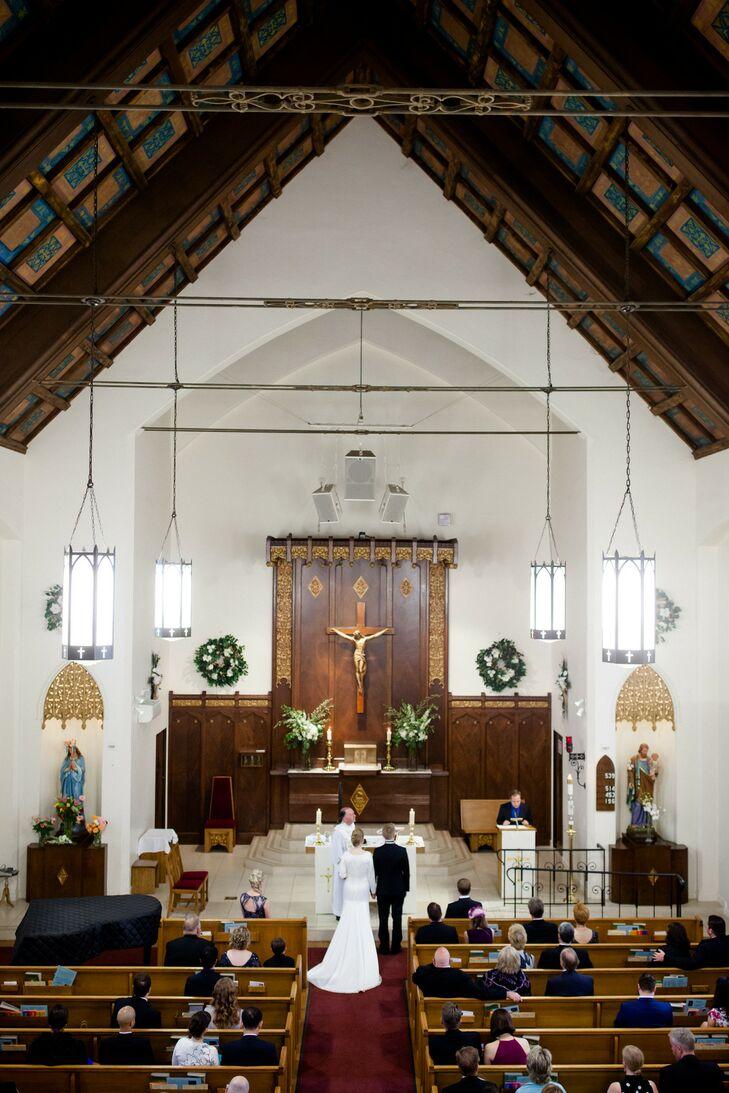 Formal Church Wedding in Northern California