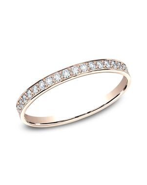 Benchmark 522800HFR Rose Gold Wedding Ring