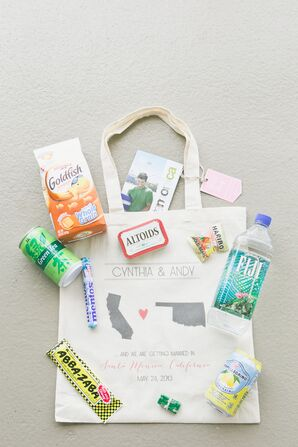 Customized State Welcome Bags