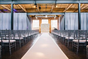 The Foundry at Puritan Mill Wedding Ceremony