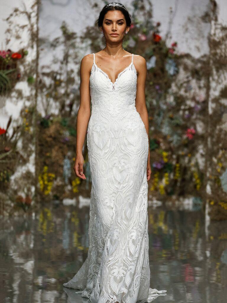 Morilee by Madeline Gardner Spring 2020 vintage-inspired wedding dress