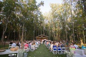 Outdoor Ceremony at Saddle Woods Farm
