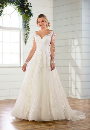 Essense of Australia D2805 Ball Gown Wedding Dress