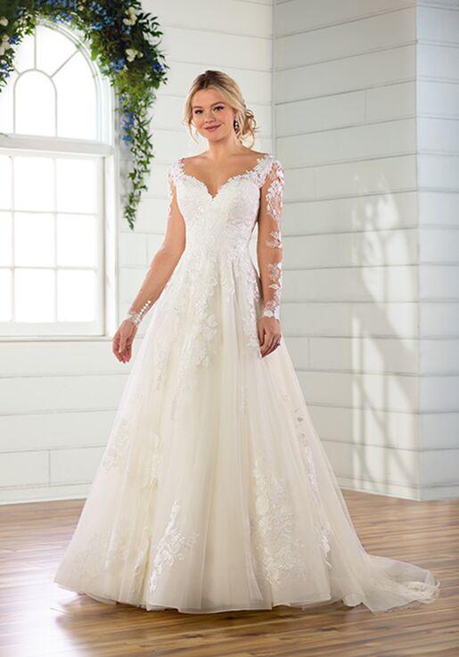 Essense of Australia D2805 Ball Gown Wedding Dress