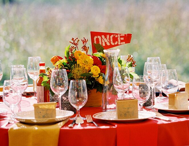 Once table numbers