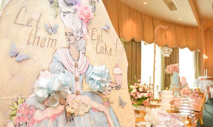 Marie Antoinette party themed inspiration and ideas