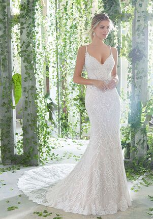 AF Couture: A Division of Morilee by Madeline Gardner Phaedra Sheath Wedding Dress