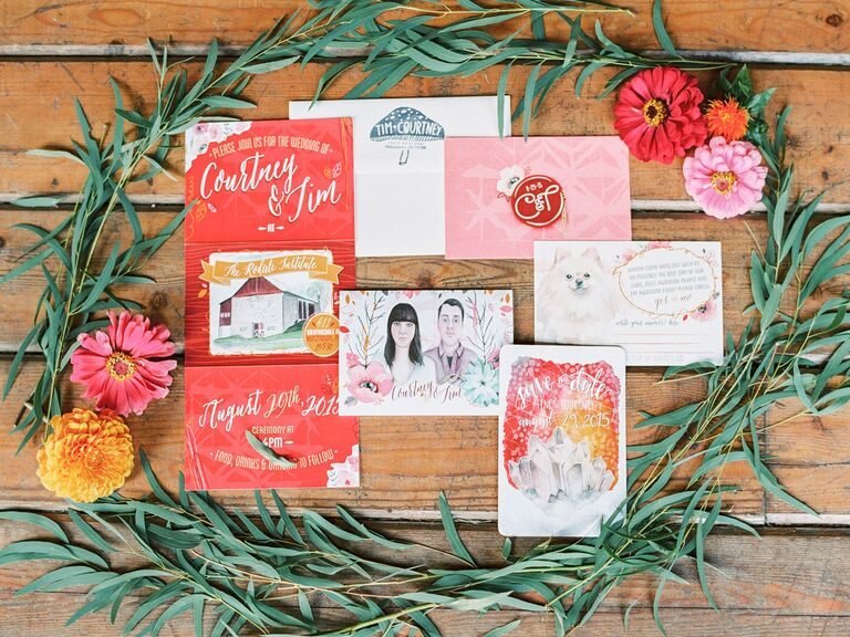 The Best Valentine's Day Wedding Ideas From Real Couples