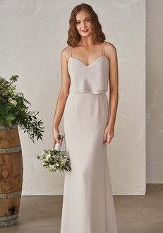 JASMINE P206001 V-Neck Bridesmaid Dress