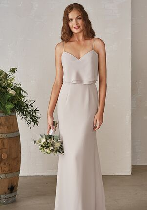 JASMINE P206001 V-Neck Bridesmaid Dress