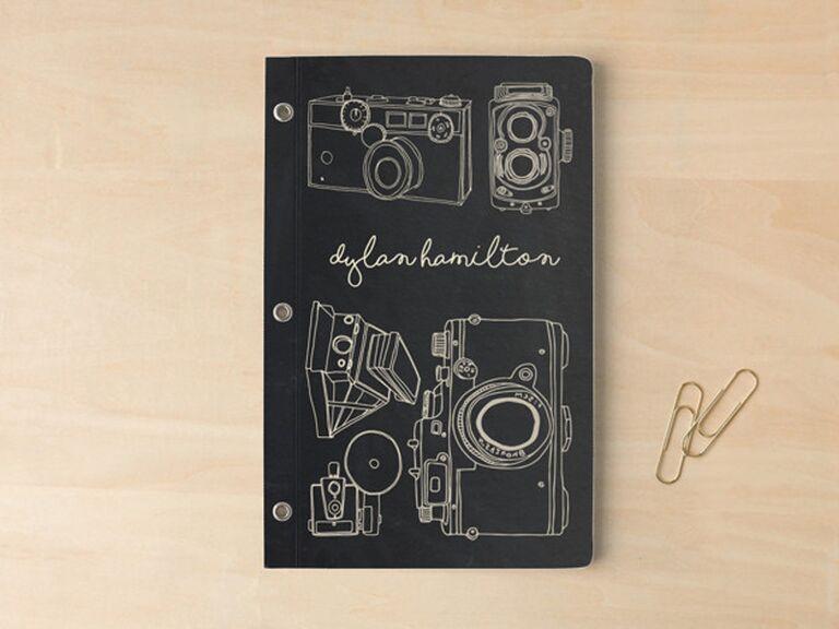 vintage camera notebook