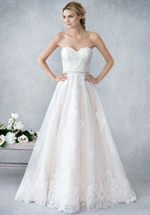 Kenneth Winston: Ella Rosa Collection BE421 A-Line Wedding Dress