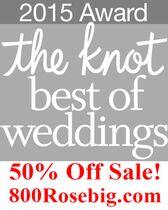 800ROSEBIG WHOLESALE WEDDING FLORIST 50% OFF SALE!