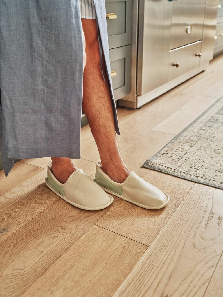 Tan France x Etsy house shoes gift for husband