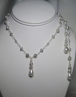 Everything Angelic Grace Lariat Necklace - L30 Wedding Necklace photo