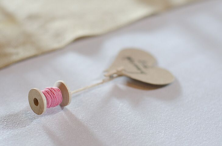 Spindle Place Card
