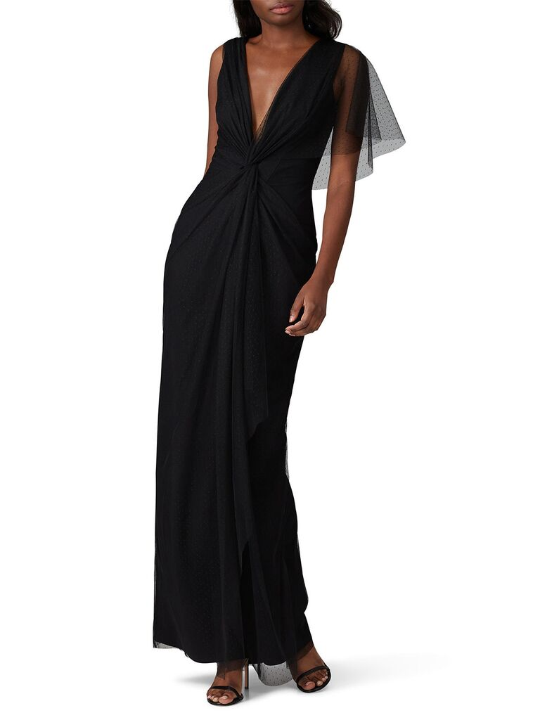 Black bridesmaid dress rental under $100