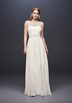 David's Bridal DB Studio Style 184645DB Sheath Wedding Dress