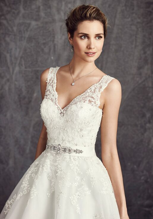 41496f5f7c23 Kenneth Winston  Ella Rosa Collection BE279 Wedding Dress - The Knot