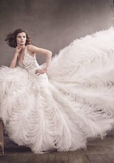 Lazaro 3650 Mermaid Wedding Dress