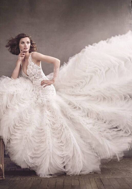 Lazaro 3650 Wedding Dress - The Knot