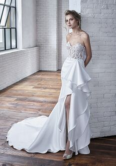 Badgley Mischka Bride Carmela A-Line Wedding Dress