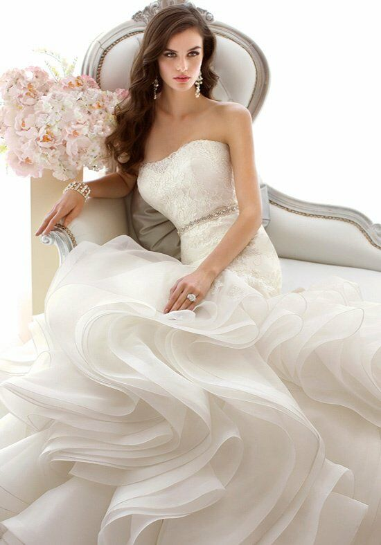 Essense of australia d1479 wedding dress the knot for The knot gift registry