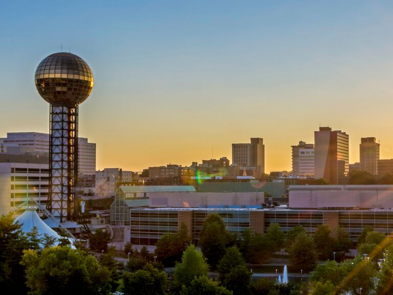 city view of Knoxville, Tennessee