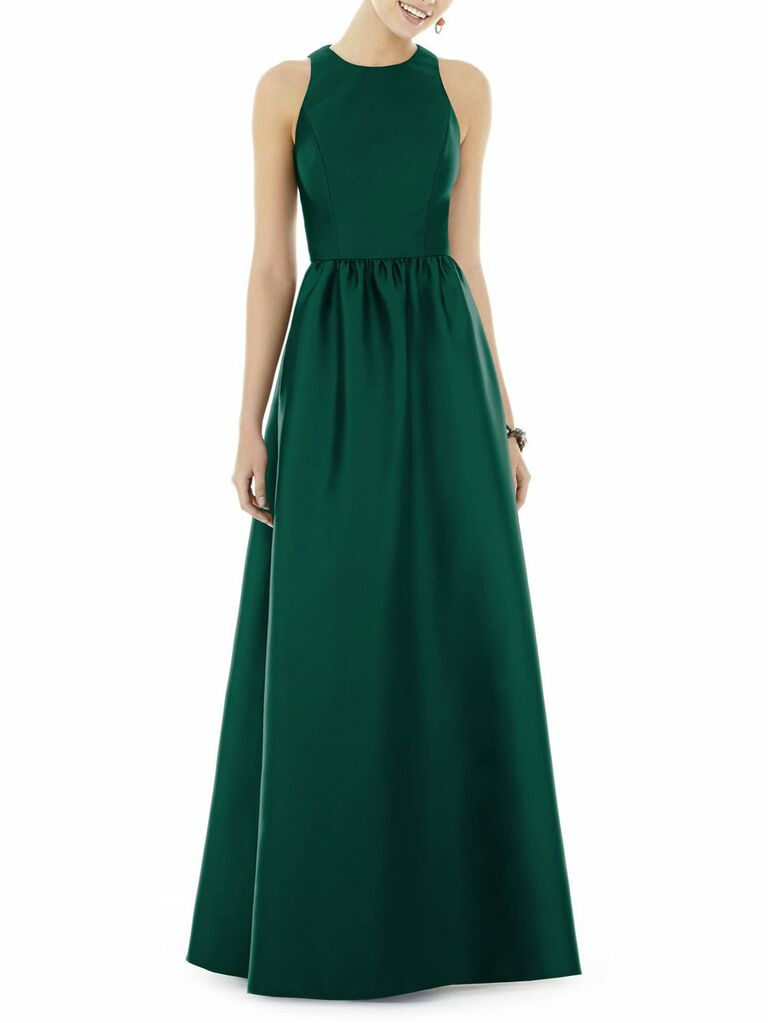 Alfred Sung classic mother of the bride dress