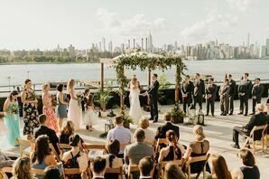 Rooftop Wedding at the W Loft in Brooklyn, New York