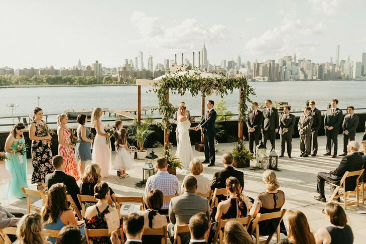 Rooftop Wedding at the W Loft in Brooklyn, New York