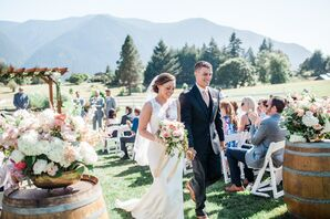 Scenic Outdoor Ceremony in Washington State