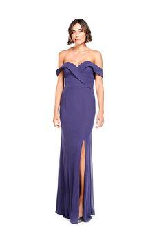 Khloe Jaymes DEE Off the Shoulder Bridesmaid Dress