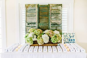 Escort Cards with Cape Cod Motif