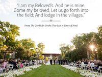 The Good Life wedding reading