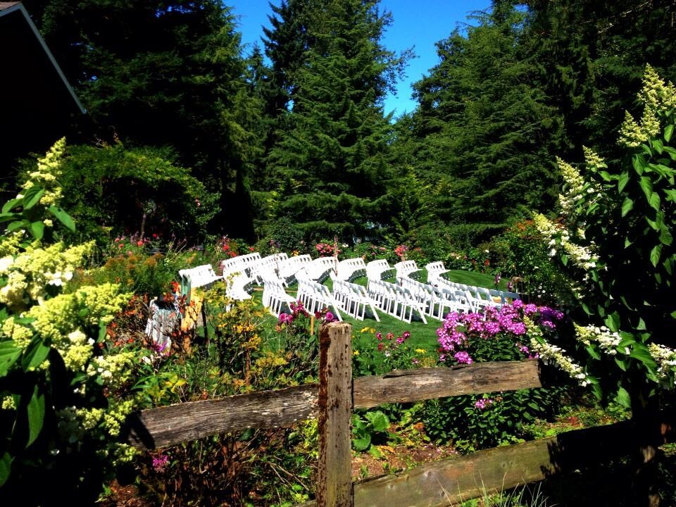 Wedding reception venues in portland or the knot lucys garden junglespirit Images