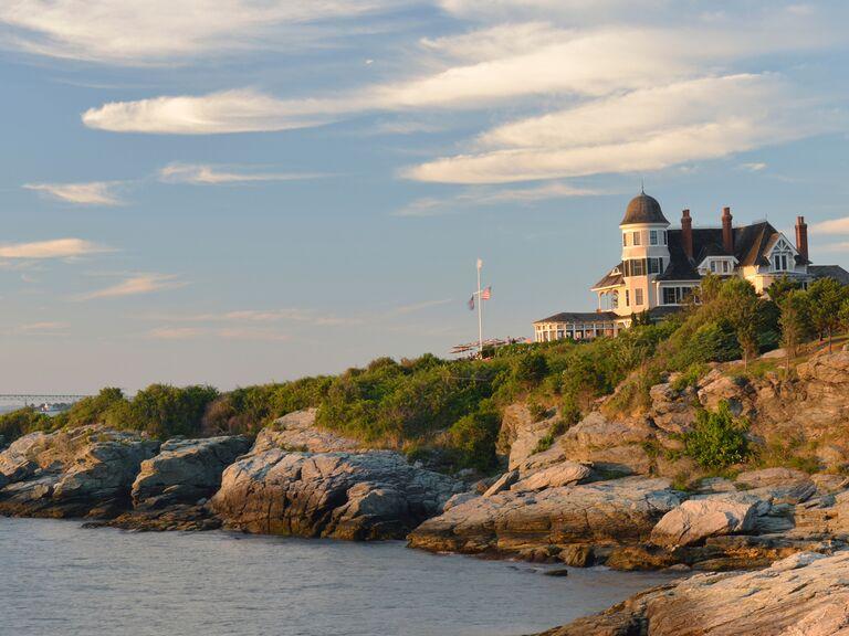 Newport shoreline
