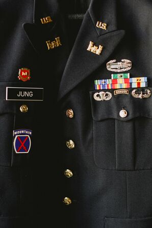 Accessorizing With Army Pins
